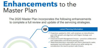 Water and Wastewater Master Plan infographic