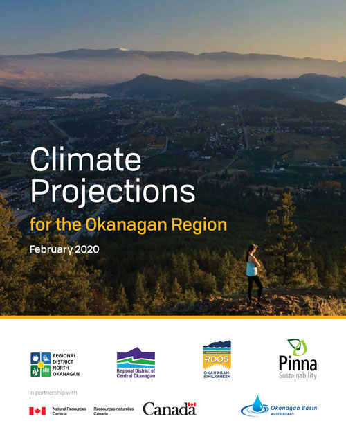 Climate Projections Report for the Okanagan Cover image