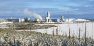 Eleonore gold mine in northern Quebec