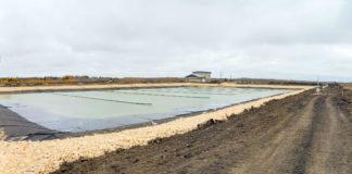 Long Plain wastewater lagoon