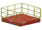 Barr Platics Industrial Floating Modular Platform