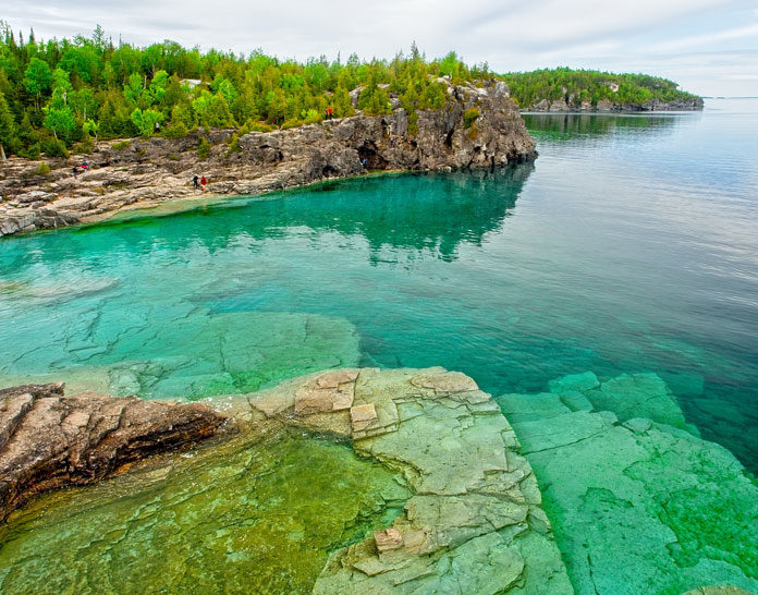 Lake Huron Stock Photo