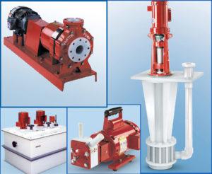 Vanton centrifugal, rotary, sump pumps