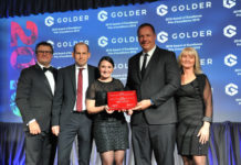 Golder Canadian Consulting Engineering Award in 2019
