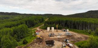 oil spill site northern Alberta