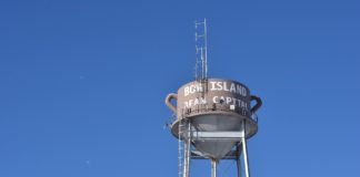 Bow Island water tower
