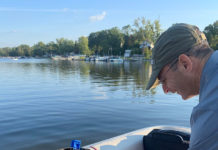 Sampling Chippewa Lake