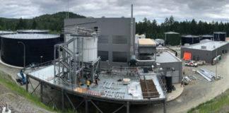 CRD residuals treatment facility construction