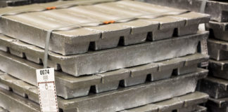 recycled lead ingots