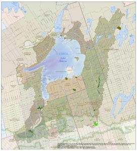 Lake Simcoe watershed map