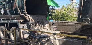 Hydro excavation slurry