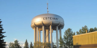 Estevan drinking water tower