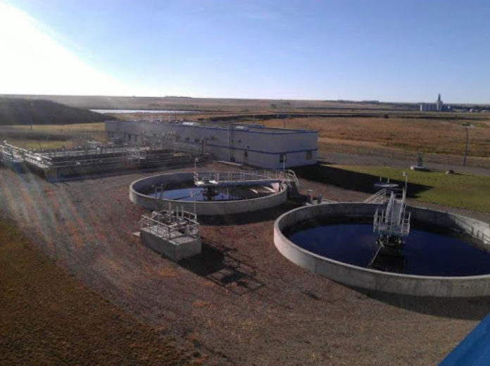 Swift Current Wastewater Treatment Plant Photo