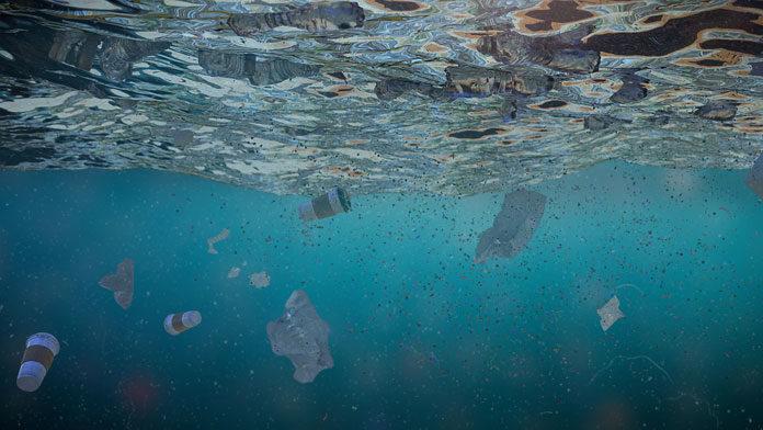 microplastics in ocean water