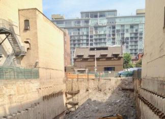 Toronto-excavation