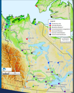 NWT Water Filtration Map