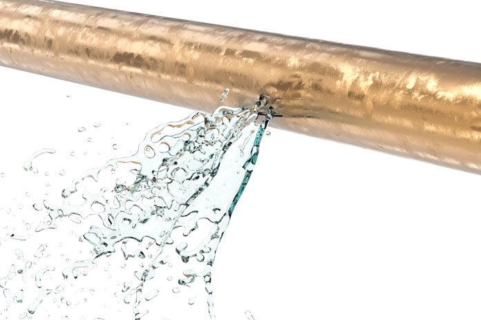 pinhole leak in pipe