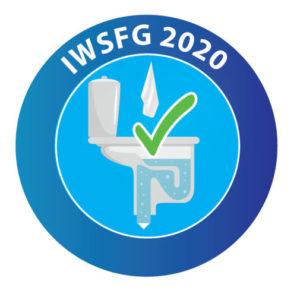 IWSFG flushable logo