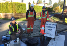 water main unidirectional flushing