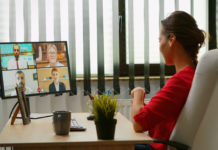 Virtual meeting, working remotely