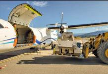 Equipment loading for flight