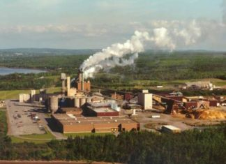 Northern Pulp paper mill