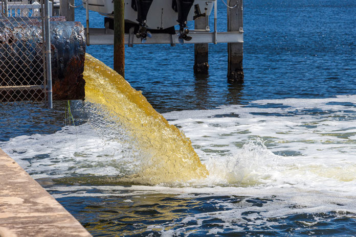 wastewater-pipe-discharging-raw-sewage
