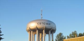 Estevan's drinking water tower