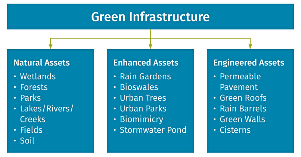 Green Infrastructure Graphic