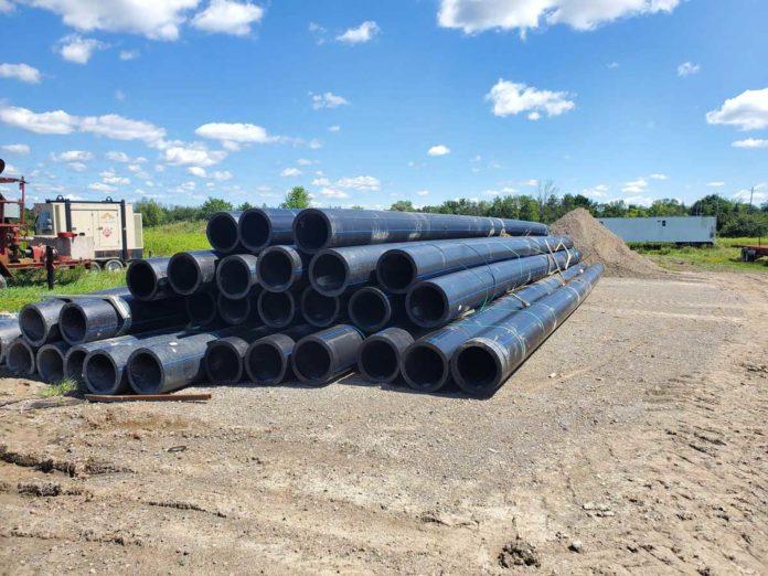 Tottenham-pipeline-construction
