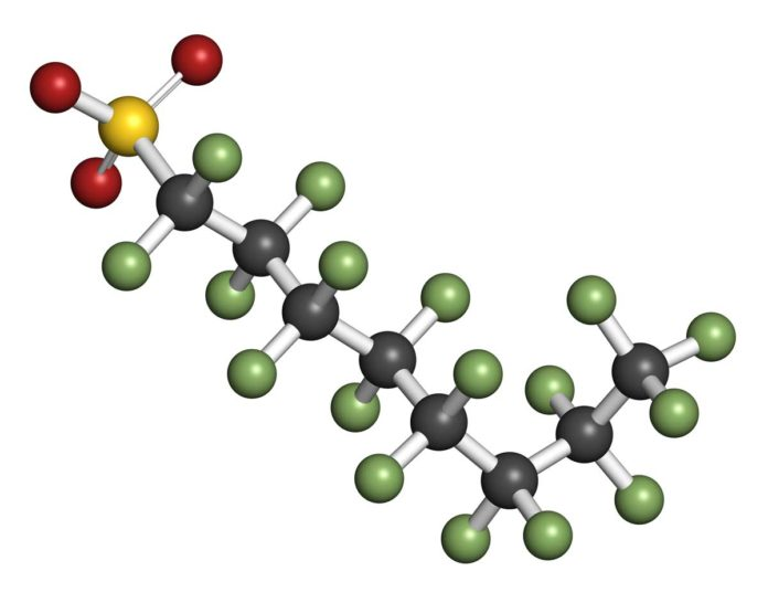 PFOS-molecule
