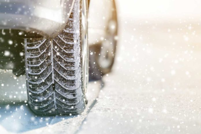 snow-tire-stock-image